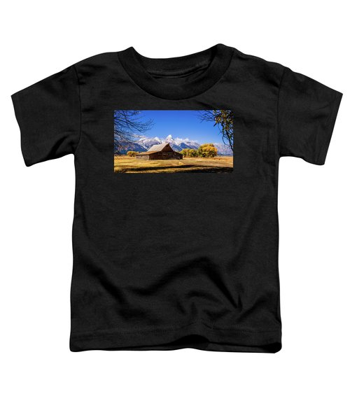 Autumn At Moulton Barn Toddler T-Shirt