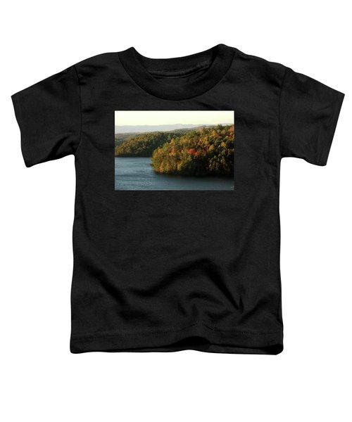 Autumn At Philpott Lake, Virginia Toddler T-Shirt