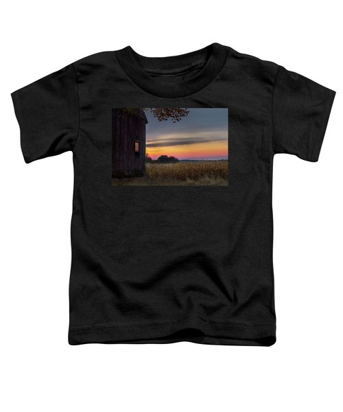 Toddler T-Shirt featuring the photograph Autumn Glow by Bill Wakeley