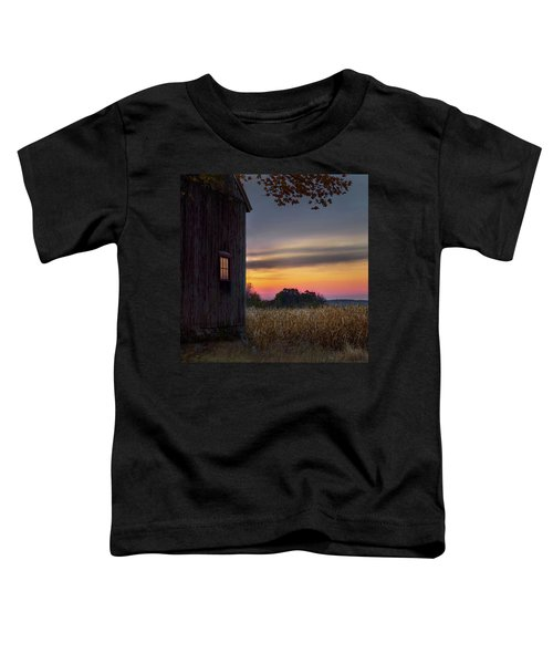 Toddler T-Shirt featuring the photograph Autumn Glow Square by Bill Wakeley