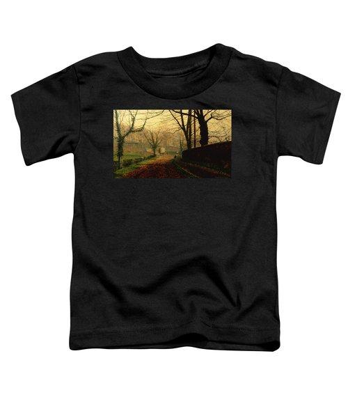 Autumn Sunshine Stapleton Parknear Pontefract  Toddler T-Shirt