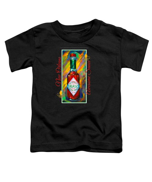 Awesome Sauce - Tabasco Toddler T-Shirt