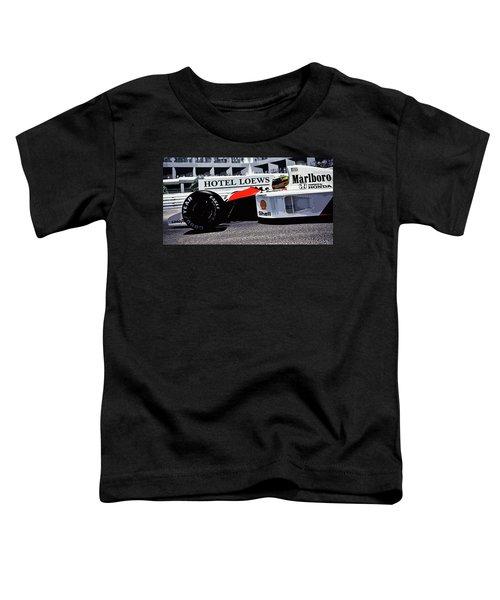 Ayrton Senna - Montecarlo Toddler T-Shirt