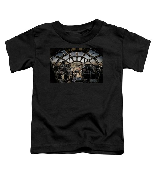 B29 Superfortress Fifi Cockpit View Toddler T-Shirt