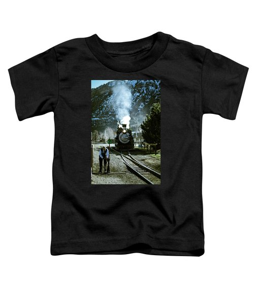 Backing Into The Station Toddler T-Shirt