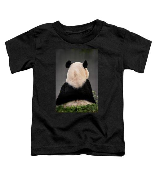 Backward Panda Toddler T-Shirt
