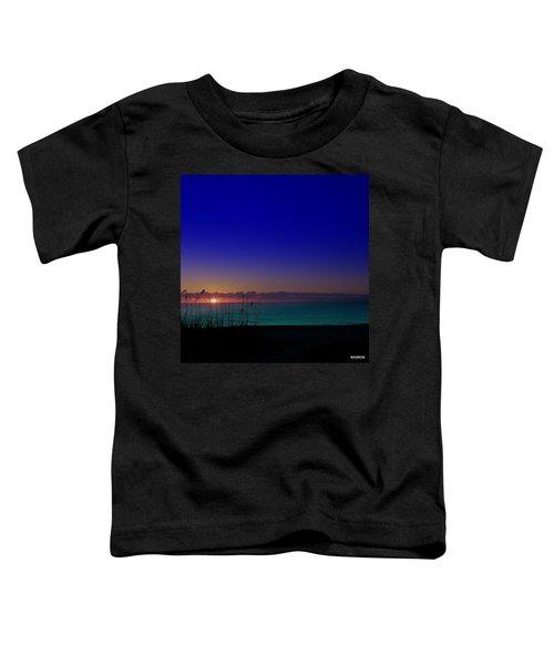Badblue Sunrise  Toddler T-Shirt