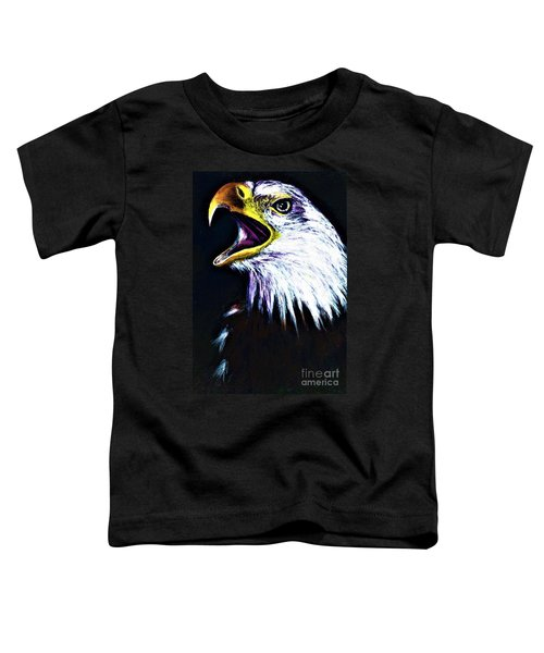 Bald Eagle - Francis -audubon Toddler T-Shirt