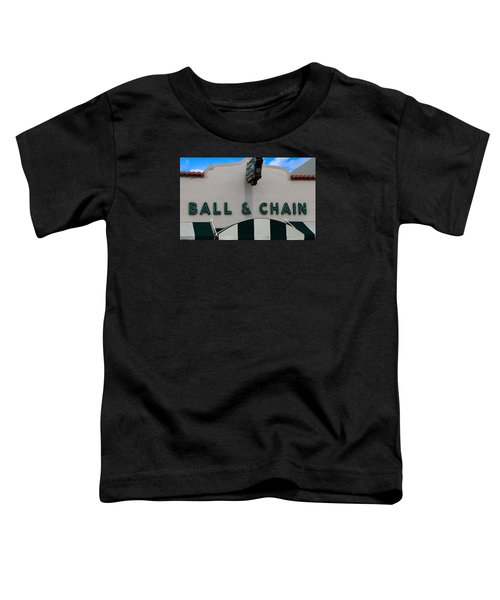 Ball And Chain Toddler T-Shirt
