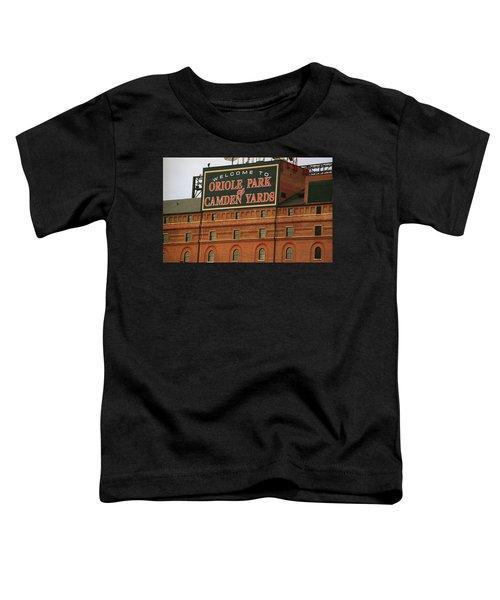 Baltimore Orioles Park At Camden Yards Toddler T-Shirt