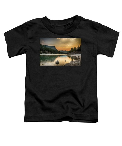 Banff Sunrise Toddler T-Shirt