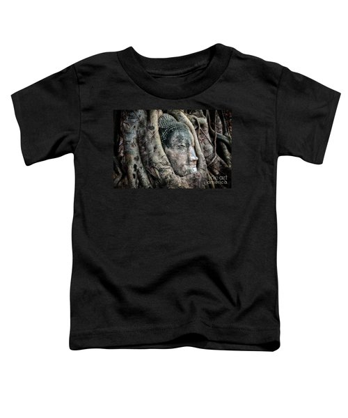 Banyan Tree Buddha Toddler T-Shirt