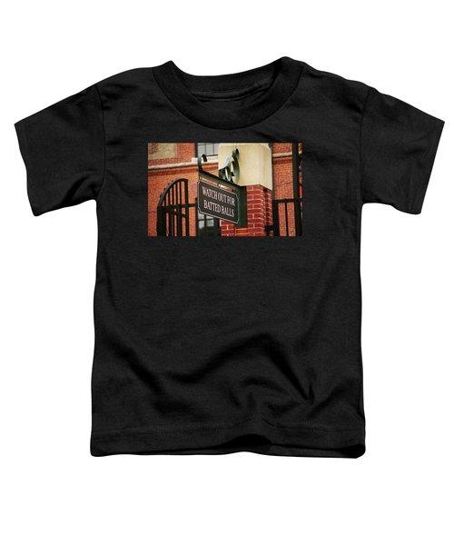 Baseball Warning Toddler T-Shirt