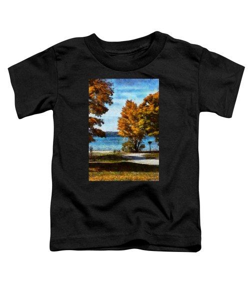 Bass Lake October Toddler T-Shirt
