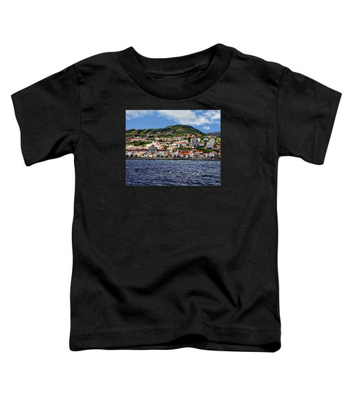 Bay Of Horta Toddler T-Shirt