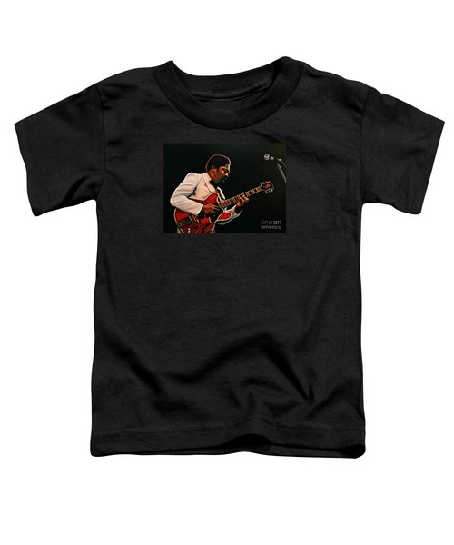 B. B. King Toddler T-Shirt by Paul Meijering