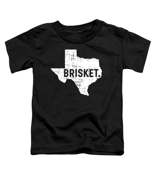 Bbq Brisket Texas Gift Barbecue Toddler T-Shirt