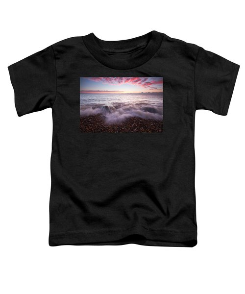 Beach Sunrise Toddler T-Shirt