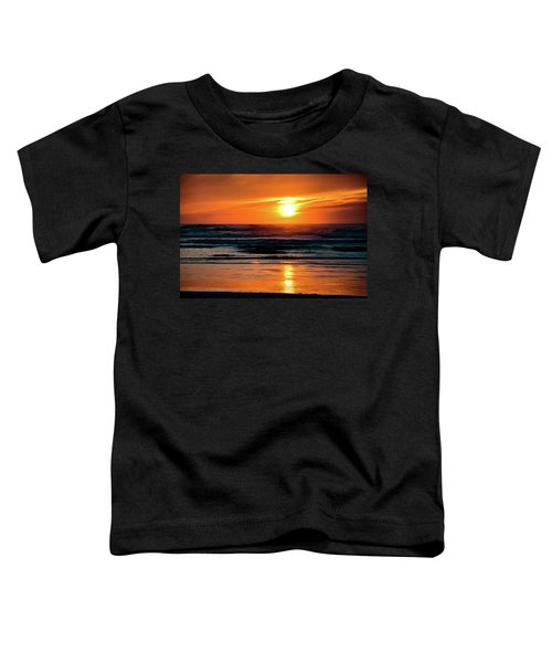Beach Sunset Toddler T-Shirt