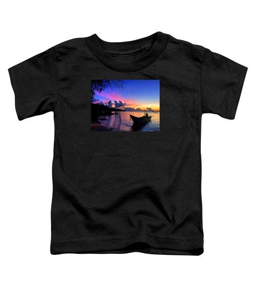 Beach Sunset Toddler T-Shirt
