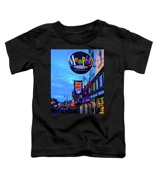 Beale Str. Blues  Toddler T-Shirt