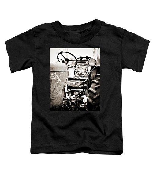 Beautiful Oliver Row Crop Old Tractor Toddler T-Shirt