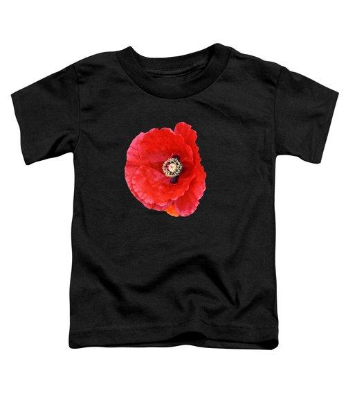 Beautiful Red Poppy Papaver Rhoeas Toddler T-Shirt