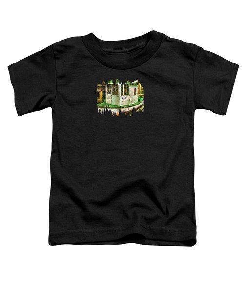 Beaver The Old Fishing Boat Toddler T-Shirt by Thom Zehrfeld