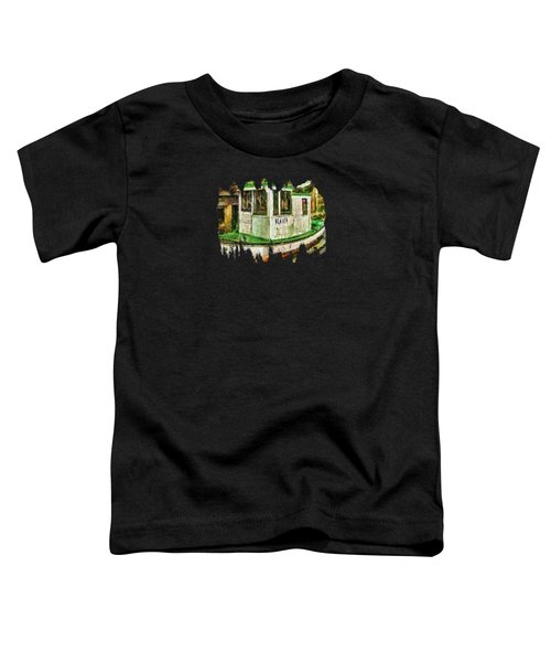 Beaver The Old Fishing Boat Toddler T-Shirt