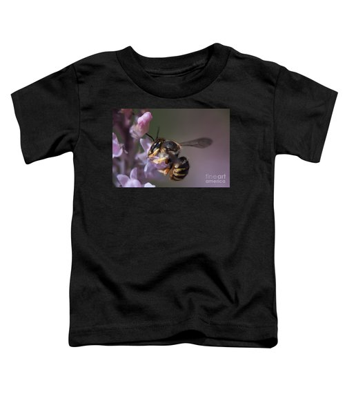 Bee Sipping Nectar Toddler T-Shirt