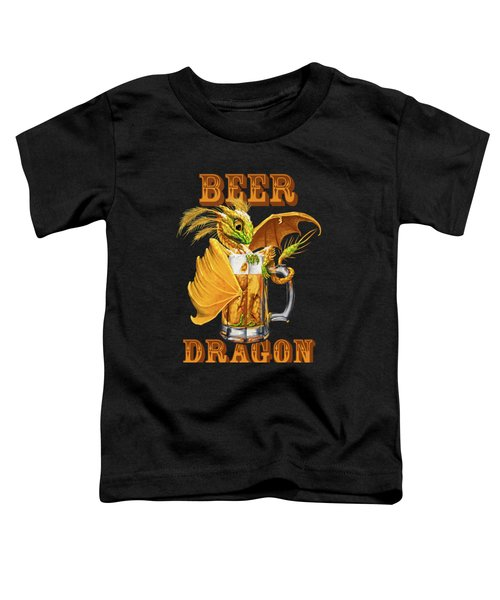 Beer Dragon Toddler T-Shirt