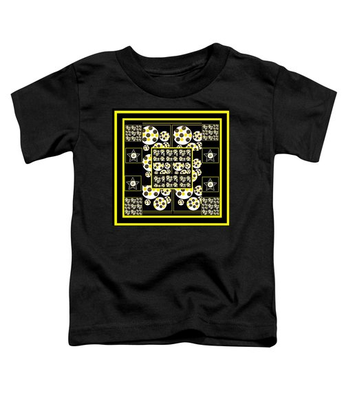 Bees Traveling Beyond Us Overlapping Toddler T-Shirt
