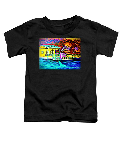 Belize Colorized Toddler T-Shirt