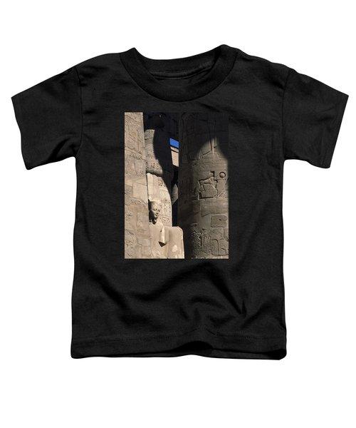Belief In The Hereafter - Luxor Karnak Temple Toddler T-Shirt
