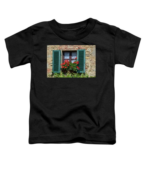 Bella Italian Window  Toddler T-Shirt