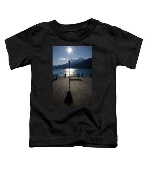 Bench And Street Lamp Toddler T-Shirt