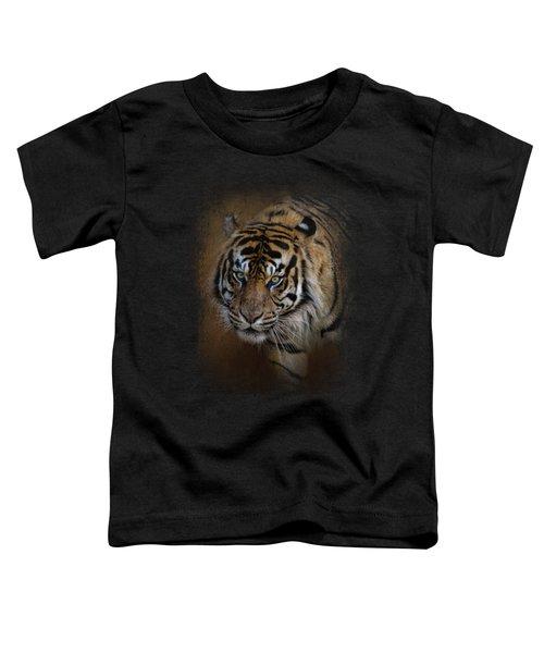 Bengal Stare Toddler T-Shirt by Jai Johnson