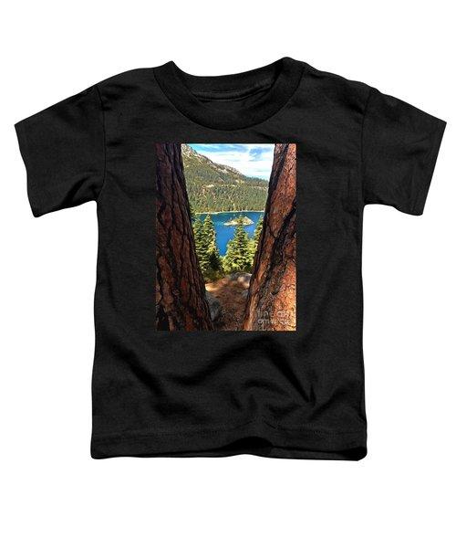 Between The Pines Toddler T-Shirt