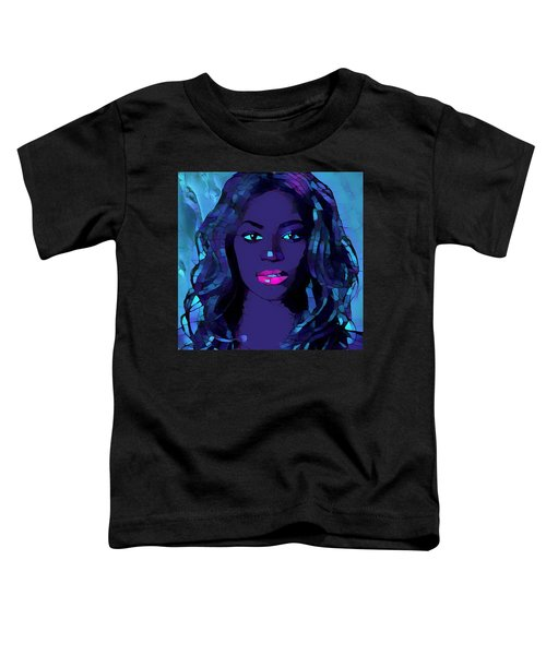 Beyonce Graphic Abstract Toddler T-Shirt by Dan Sproul