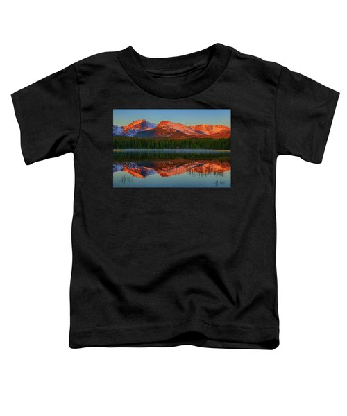 Bierstadt Alpenglow Toddler T-Shirt