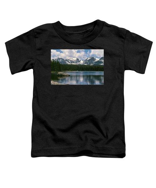 Bierstadt Lake Hallett And Otis Peaks Rocky  Mountain National Park Toddler T-Shirt