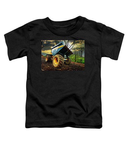Big Bad Dumper Truck Toddler T-Shirt