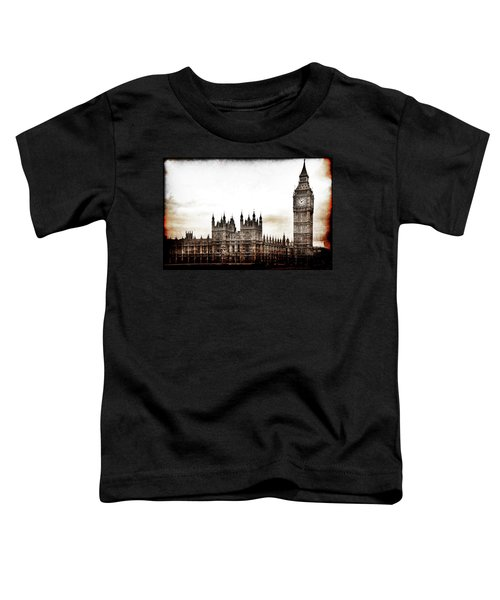 Big Bend And The Palace Of Westminster Toddler T-Shirt