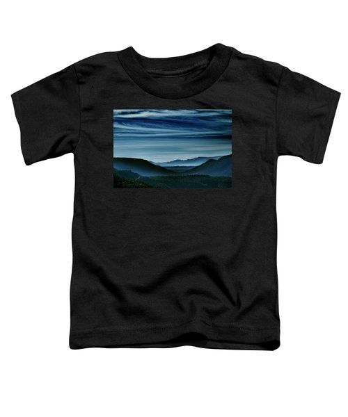Big Bend At Dusk Toddler T-Shirt