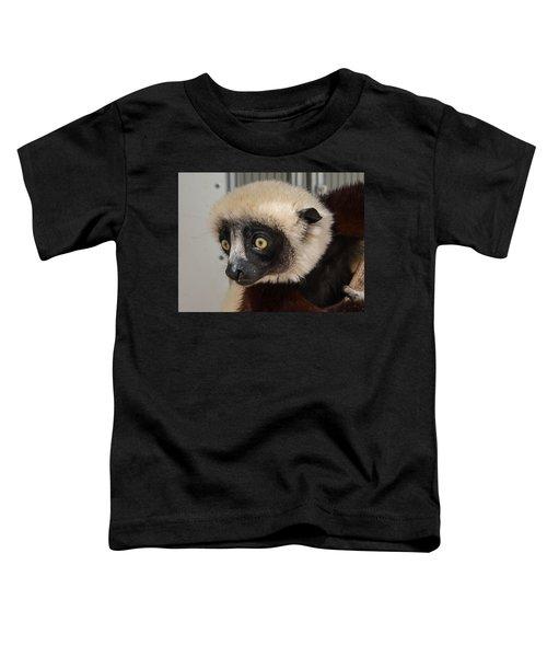 A Very Curious Sifaka Toddler T-Shirt