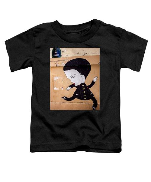 Big Head On Rue Chapon Toddler T-Shirt