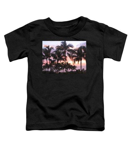 Big Island Sunset 3 Toddler T-Shirt