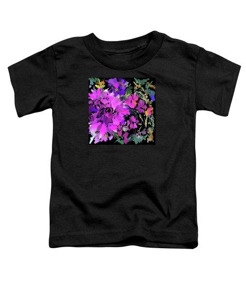 Big Pink Flower Toddler T-Shirt
