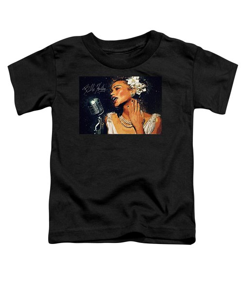 Billie Holiday Toddler T-Shirt