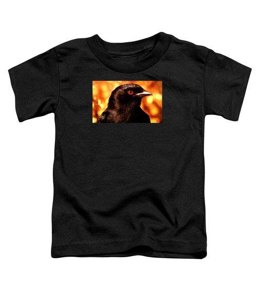 Toddler T-Shirt featuring the photograph Bird Friend  by Colette V Hera  Guggenheim